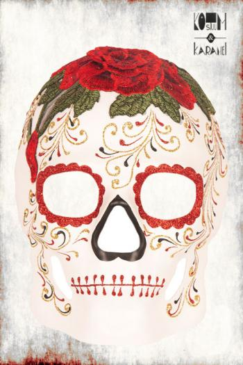 Masker Skull Day of Death Luxe Kant