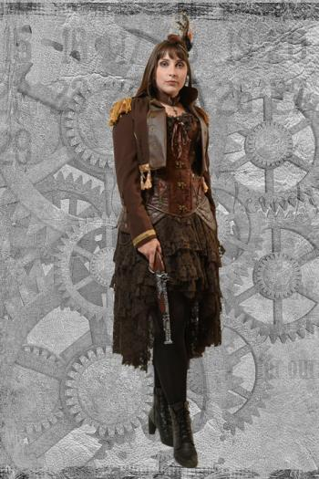 Steampunk Miss Hudleston